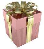 Gift Box. Luxury of gift box. Concept of christmas, wedding and birthday Royalty Free Stock Photography