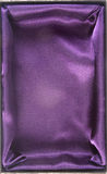 Gift box. Purple cloth lined gift box Royalty Free Stock Image