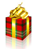 Gift box. This illustration can be used for your design Royalty Free Stock Photo