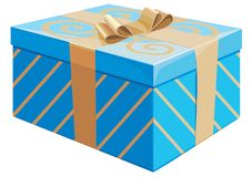 The gift box Stock Images