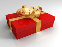 Gift box. Luxury present... gift of love Stock Images