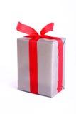 Gift box. On white background stock photo