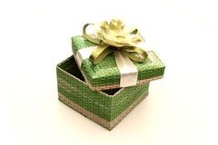 Gift Box. A gift box made of pandanus leaf Royalty Free Stock Images