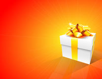 Gift Box Background Stock Image