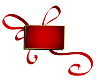 Gift box,banner Stock Photo
