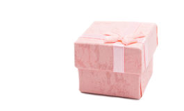 Gift box bed gentle tone Stock Photography