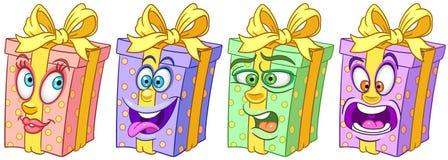 Gift Box. Birthday Presents. Holiday celebration concept royalty free stock photo
