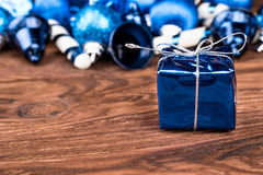 Gift in a box Royalty Free Stock Image