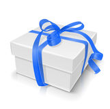 Gift box with bow. Vector illustration on white background eps10 Royalty Free Stock Photography