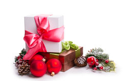 Gift box, bump Royalty Free Stock Photo