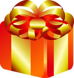 Gift box cartoon Royalty Free Stock Images