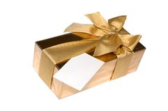 Gift Box Of Chocolates stock image