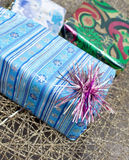 Gift box for christian holiday Royalty Free Stock Photography