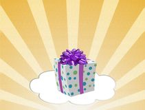 Gift box with Christmas Royalty Free Stock Image