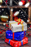 Gift box for Christmas Royalty Free Stock Image