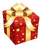 Gift Box - Christmas Vector Illustration Stock Images