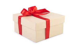 Gift box with clipping path. Stock Photography