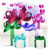 Gift box concept Royalty Free Stock Photography