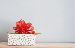 A gift box Royalty Free Stock Photography