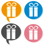 Gift box. Royalty Free Stock Photos