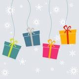 Gift box design Royalty Free Stock Photo