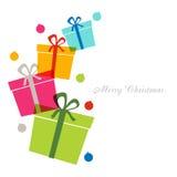 Gift box design Stock Photography