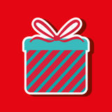 Gift box design Royalty Free Stock Photography