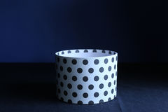 Gift box with dots Royalty Free Stock Images