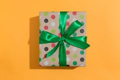 A gift box Stock Images