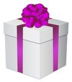 Gift box gold Royalty Free Stock Photo