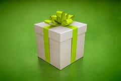 Gift box green Royalty Free Stock Photo