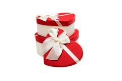 Gift Box Heart Stock Photo