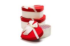 Gift Box Heart Royalty Free Stock Photography
