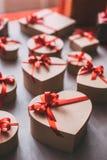 Gift box heart. Stock Photography