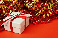 Gift box for holiday Stock Photography