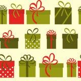 Gift Box Holiday Seamless Pattern Background Royalty Free Stock Photo