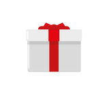 Gift box icon. Isolated on a white background Royalty Free Stock Photography