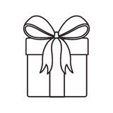 Gift box icon Stock Image