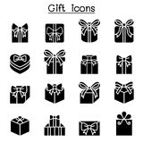 Gift box icon set vector illustration