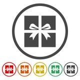 Gift Box Icon. Simle vector icon vector illustration
