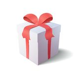 Gift box icon Stock Photo
