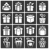 Gift Box Icons Royalty Free Stock Images
