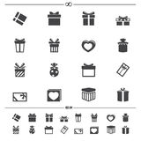 Gift box icons.vector Stock Photography