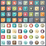 Gift box icons vector Royalty Free Stock Photography