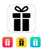 Gift box icons on white background. Vector illustration Royalty Free Stock Photo