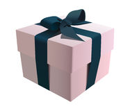 Gift Box illustration. Vector illustration of a gift box wrapped with ribbon Royalty Free Stock Image