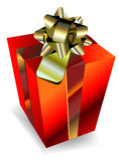 Gift box illustration Stock Images