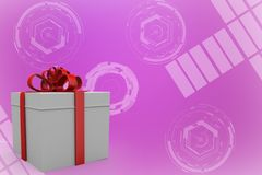 Gift box Illustration Royalty Free Stock Photo
