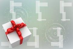 Gift box Illustration Stock Photo