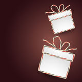 Gift box illustration Stock Image